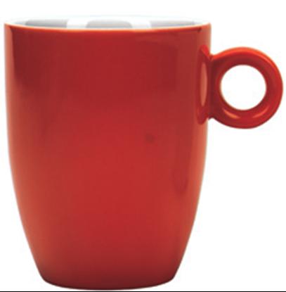 Εικόνα της Πορσελάνινη Κούπα 37cl σε Κόκκινο Χρώμα