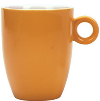 Εικόνα της Πορσελάνινη Κούπα 37cl σε Πορτοκαλί Χρώμα