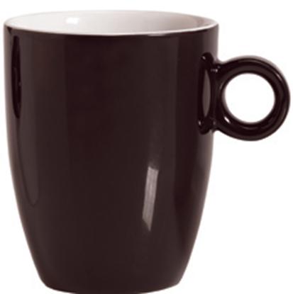 Εικόνα της Πορσελάνινη Κούπα 37cl σε Καφέ Χρώμα