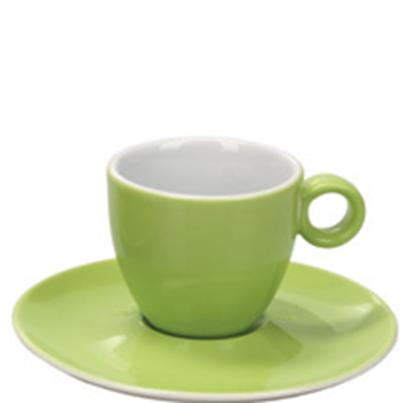 Εικόνα της Πορσελάνινη Κούπα Espresso 10cl σε Λαχανί Χρώμα