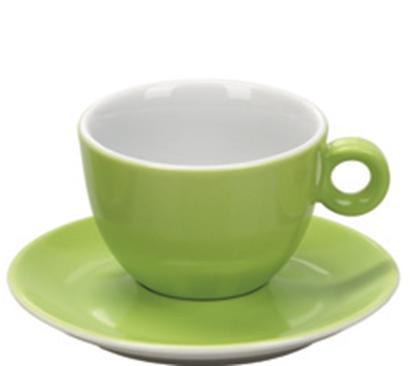 Εικόνα της Πορσελάνινη Κούπα Cappuccino 21cl σε Λαχανί Χρώμα