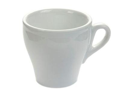 Εικόνα της Πορσελάνινη κούπα cappuccino Άσπρο χρώμα