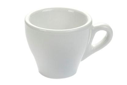 Εικόνα της Πορσελάνινη κούπα espresso Άσπρο χρώμα