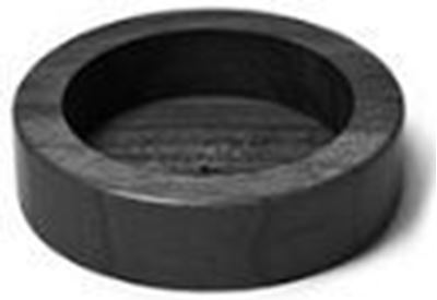 Βάση Πατητηριού 60mm ξύλινη Μαύρο χρώμα