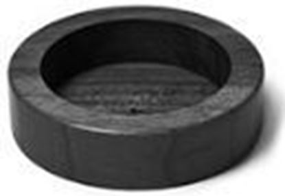 Εικόνα της Βάση Πατητηριού 60mm ξύλινη Μαύρο χρώμα