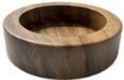 Εικόνα της Βάση Πατητηριού 60mm ξύλινη χρώμα καρυδιάς