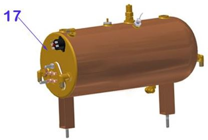 Picture of Vibiemme Replica 2 Group 2 Boiler Pid Boilers Complete Steam Boiler 2gr.vers.2012 (item 17)