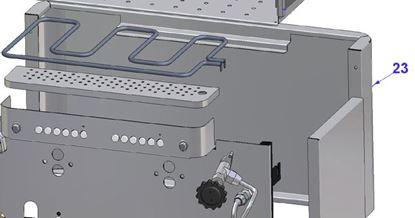 Εικόνα της Vibiemme Replica 2 Group 2 Boiler Pid Bodywork 2 Gr.r.50  Black Back Panel
