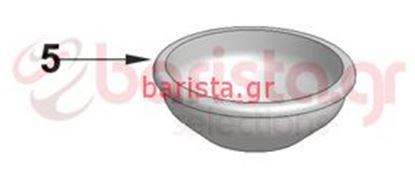 Εικόνα της Vibiemme Lollo Filterholder - Low Filter - 1 Cup (ITEM 5)