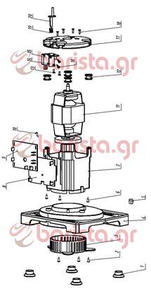 Εικόνα της Belogia Blender motor holder (image item 17)
