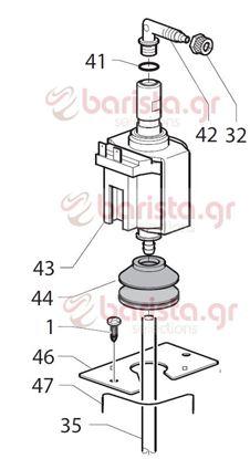 Picture of Gaggia Classic  σωληνάκι τεφλόν 4x6 L.2 Mt (εικ. νο.34)