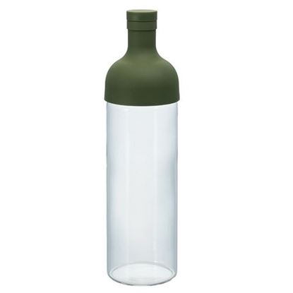Picture of Cold Brew Filter in Bottle Olive Green