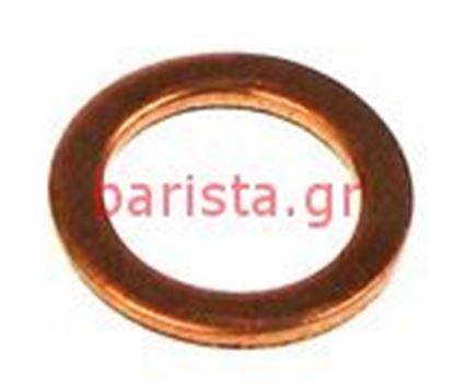 Εικόνα της Ascaso Steel Thermometer / Inlet Water 10x14x1.5 Copper Washer