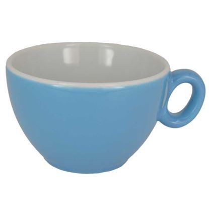 Εικόνα της Πορσελάνινη Κούπα Cappuccino 160ml ml σε Γαλάζιο Χρώμα