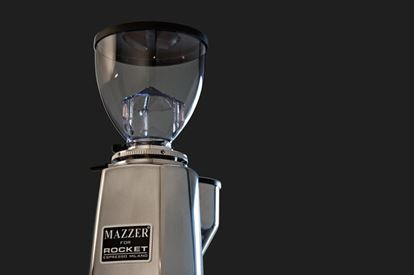 Picture of Mazzer For Rocket Mini A Polished Aluminium Coffee Grinder