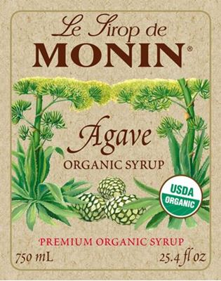 Monin AGAVE ORGANIC - Σιρόπι Οργανική Αγάβη