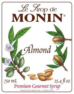 Monin ALMOND/ORGEAT - Σιρόπι Πικραμύγδαλο
