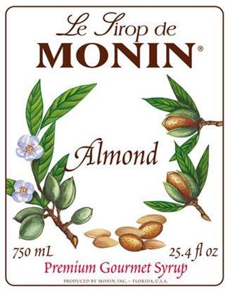 Picture of Monin ALMOND/ORGEAT - Σιρόπι Πικραμύγδαλο