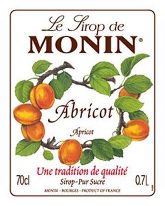 Picture of Monin APRICOT - Σιρόπι Βερύκοκο