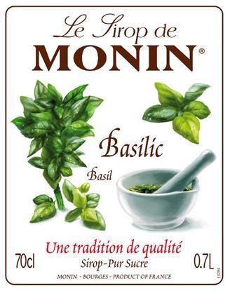Εικόνα της Monin BASIL - Σιρόπι Βασιλικός