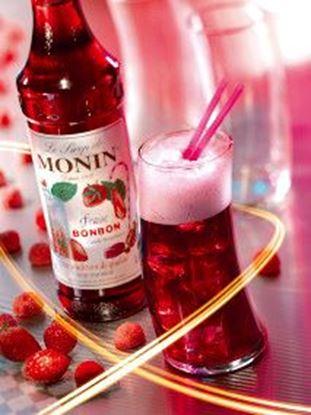 Εικόνα της Monin CANDY STRAWBERRY - Σιρόπι