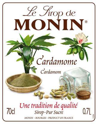 Εικόνα της Monin CARDAMON - Σιρόπι Κάρδαμο