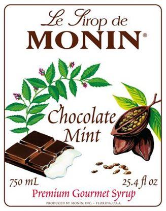 Εικόνα της Monin CHOCO MINT - Σιρόπι Σοκολάτα κ Μέντα