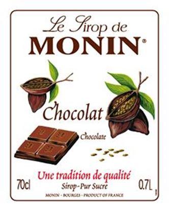 Εικόνα της Monin CHOCOLATE - Σιρόπι Σοκολάτα