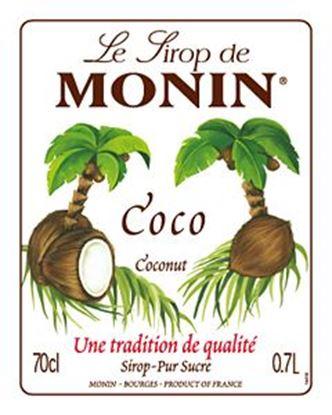 Εικόνα της Monin COCONUT - Σιρόπι Καρύδα