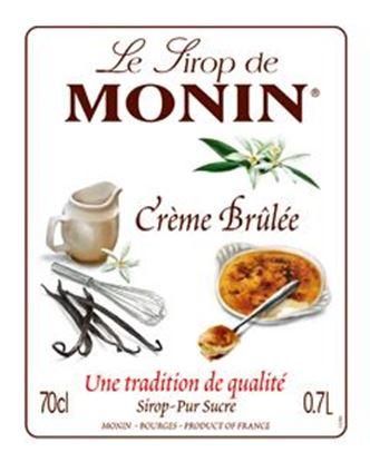 Εικόνα της Monin CRÈME BRULEE - Σιρόπι