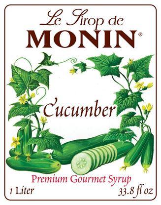 Εικόνα της Monin CUCUMBER - Σιρόπι Αγγούρι