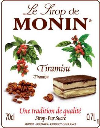 Εικόνα της Monin TIRAMISU - Σιρόπι Τιραμισού