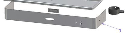 Picture of Vibiemme Replica 2 Group 2 Boiler Pid Bodywork Lower Panel For Replica Electr. Pid - 2 Gr.