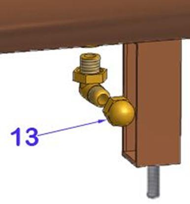 Εικόνα της Vibiemme Replica 2 Group 2 Boiler Pid Boilers 1/4es17 Cap (item 13)