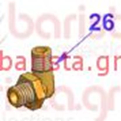 Εικόνα της Vibiemme Lollo Boiler - Elbow Fitting (item 26)