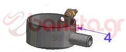 Picture of Vibiemme Lollo 2Gr Bodywork - 1/8 Hose Connector Fitting (item 4)