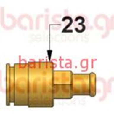 Picture of Vibiemme Lollo Charging Tap - Expansion Valve Fitting+Adjusting Screw (item 23)