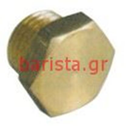 Picture of Rancilio Classe 6 S Pipes 3/8 Male Cap