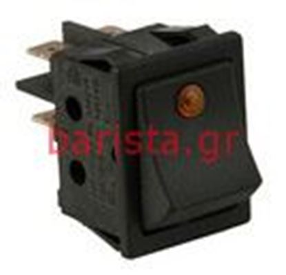 Picture of Rancilio S-20 Electronic Components Black Push-button