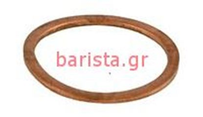 Picture of Rancilio Z-9/z-11/s-20 Water Inlets Taps Copper Gasket