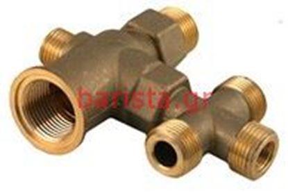 Εικόνα της Rancilio Z-9/z-11/s-20 Water Inlets Taps Inlet Tap Body