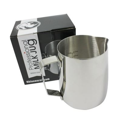 Picture of Rhino Barista Etched Milk Jug 20oz/600ml