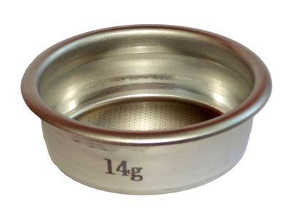 Εικόνα της Vst Precision Filter Basket 14gr Ridged Branded La Marzocco