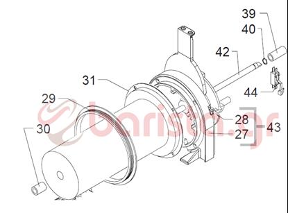 Picture of GBG Γρανιτομηχανή SPIN κύλινδρος ψύξης