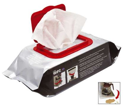 Picture of Urnex Cafe Wipz Cleaning Wipes