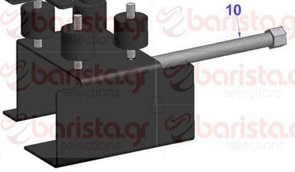 Picture of Vibiemme Domobar Super Motor Pump Inox Flexible Tube Domobar S D.N6 1/8 FC X 1/8 FC CM
