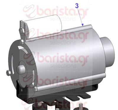 Picture of Vibiemme Lollo 2Gr Motor pump - Electric Motor 220V For Lollo 2 Gr And Semiprof.