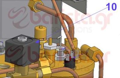 Picture of Vibiemme Domobar Super Electronic - D.3 220V Inlet Water Solenoid Valve