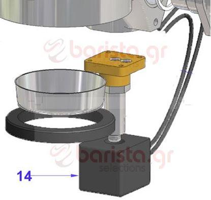 Picture of Vibiemme Domobar Super Grouphead Solenoid Valve Coil 3 Ways 304398