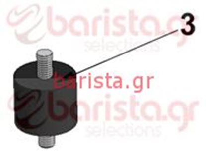 Picture of Vibiemme Lollo 2Gr Motor pump - Anti-Vibrating Motor Shock Absorber (item 3)